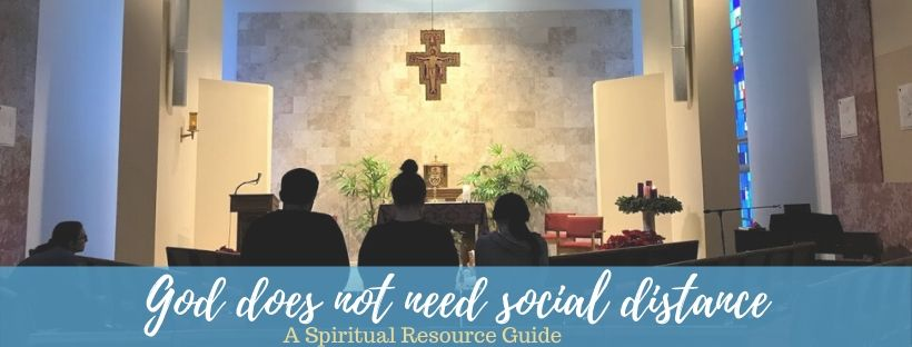 God Does Not Need Social Distance