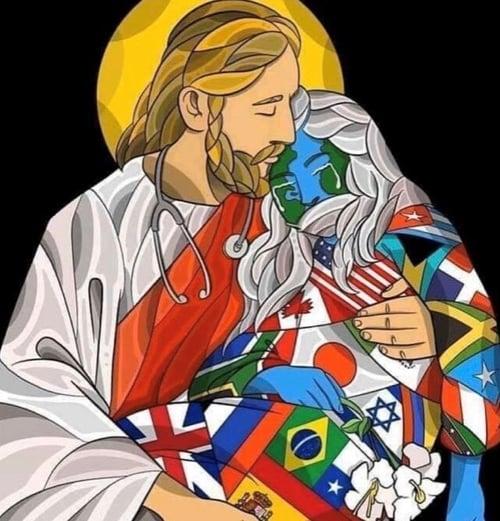 Jesus&flags