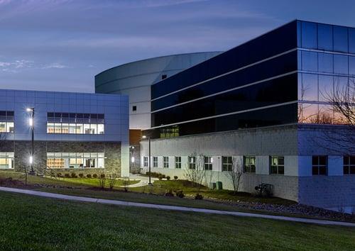 Neumann campus in the evening
