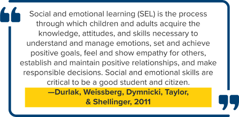 Social emotional learning program definition