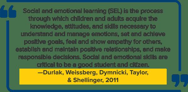 Social emotional learning program definition