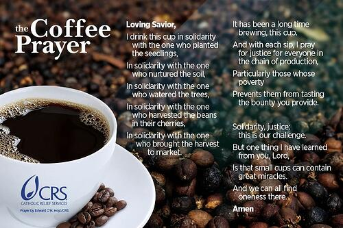 coffee prayer