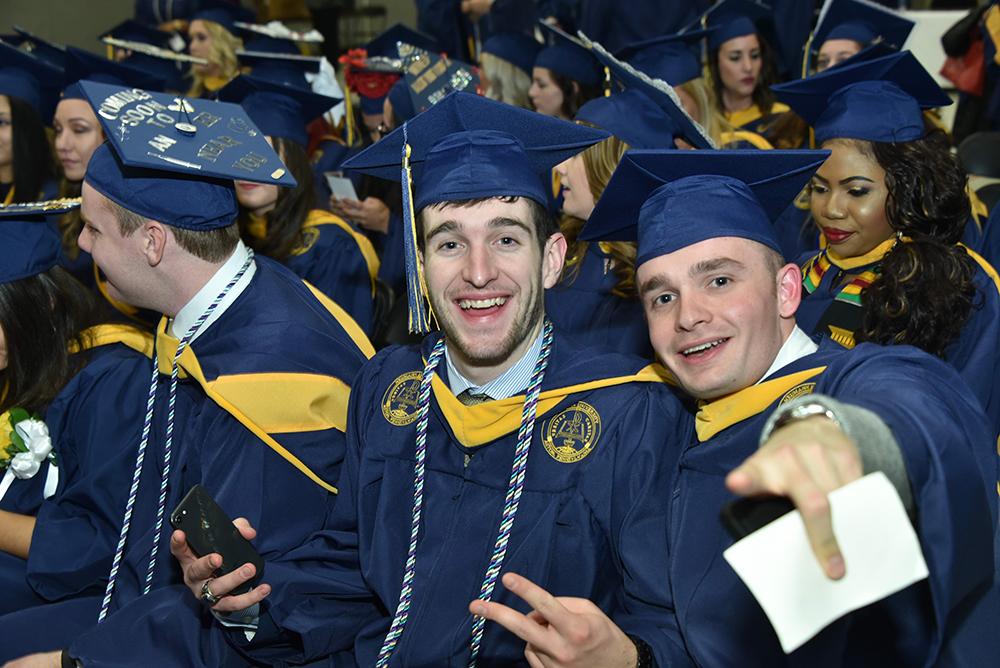 First Winter Graduation Earns Applause