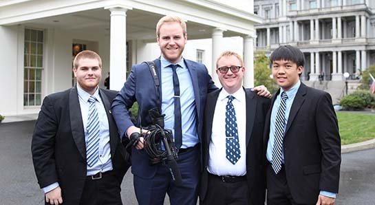 White House Welcomes WNUW Students