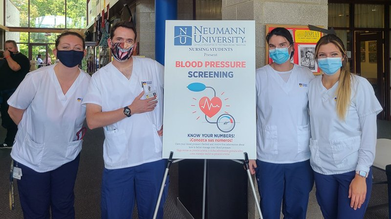 Nursing students support Community Day