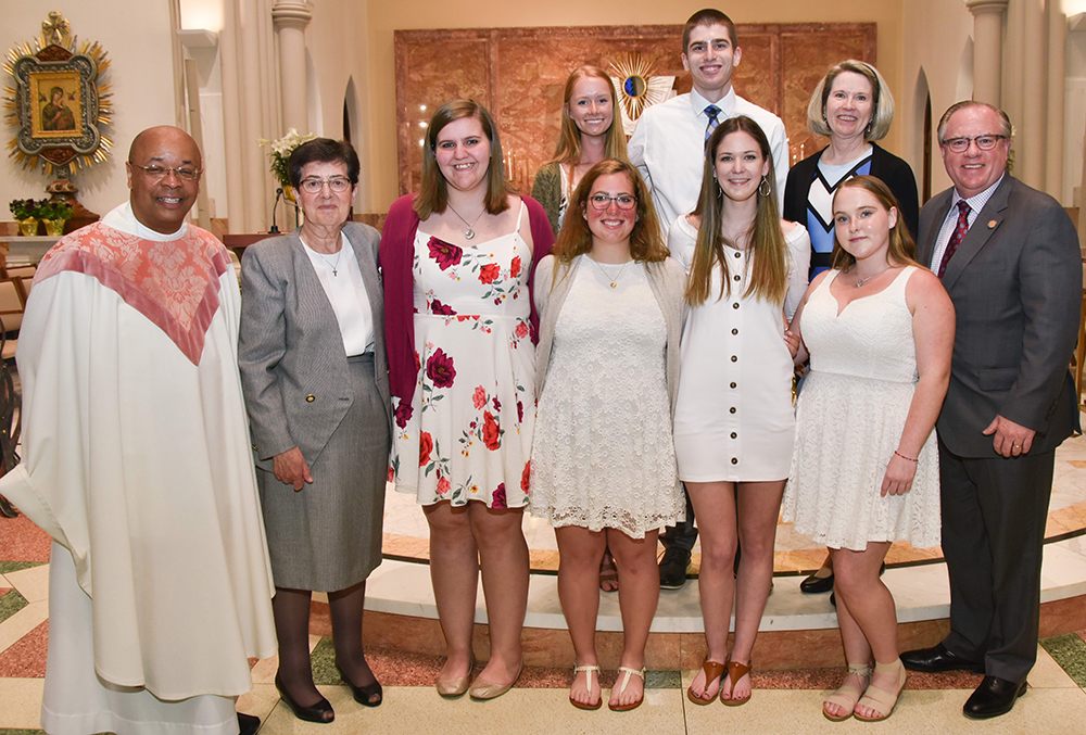 Six Students Join the Church