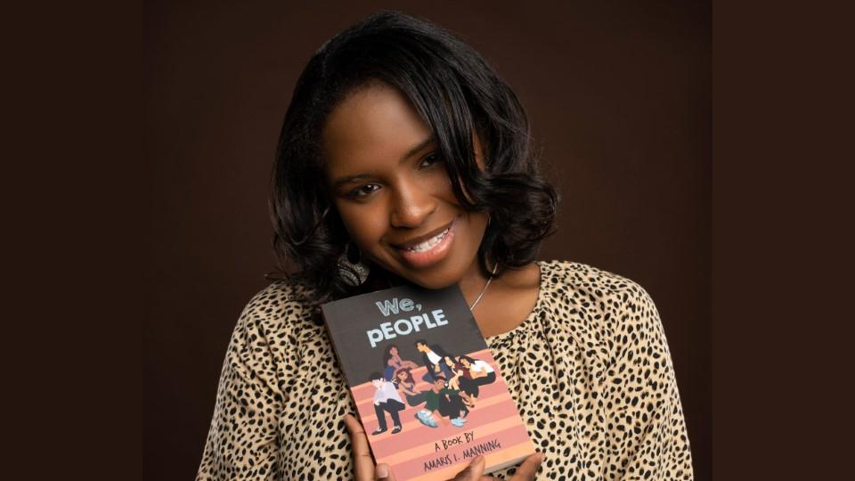 Senior Amaris Manning Publishes her First Book