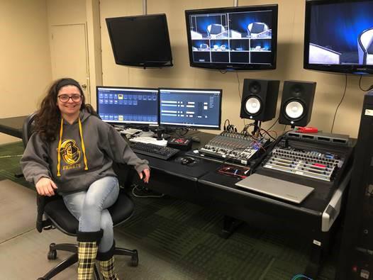 College Radio Show Leads to TV Career