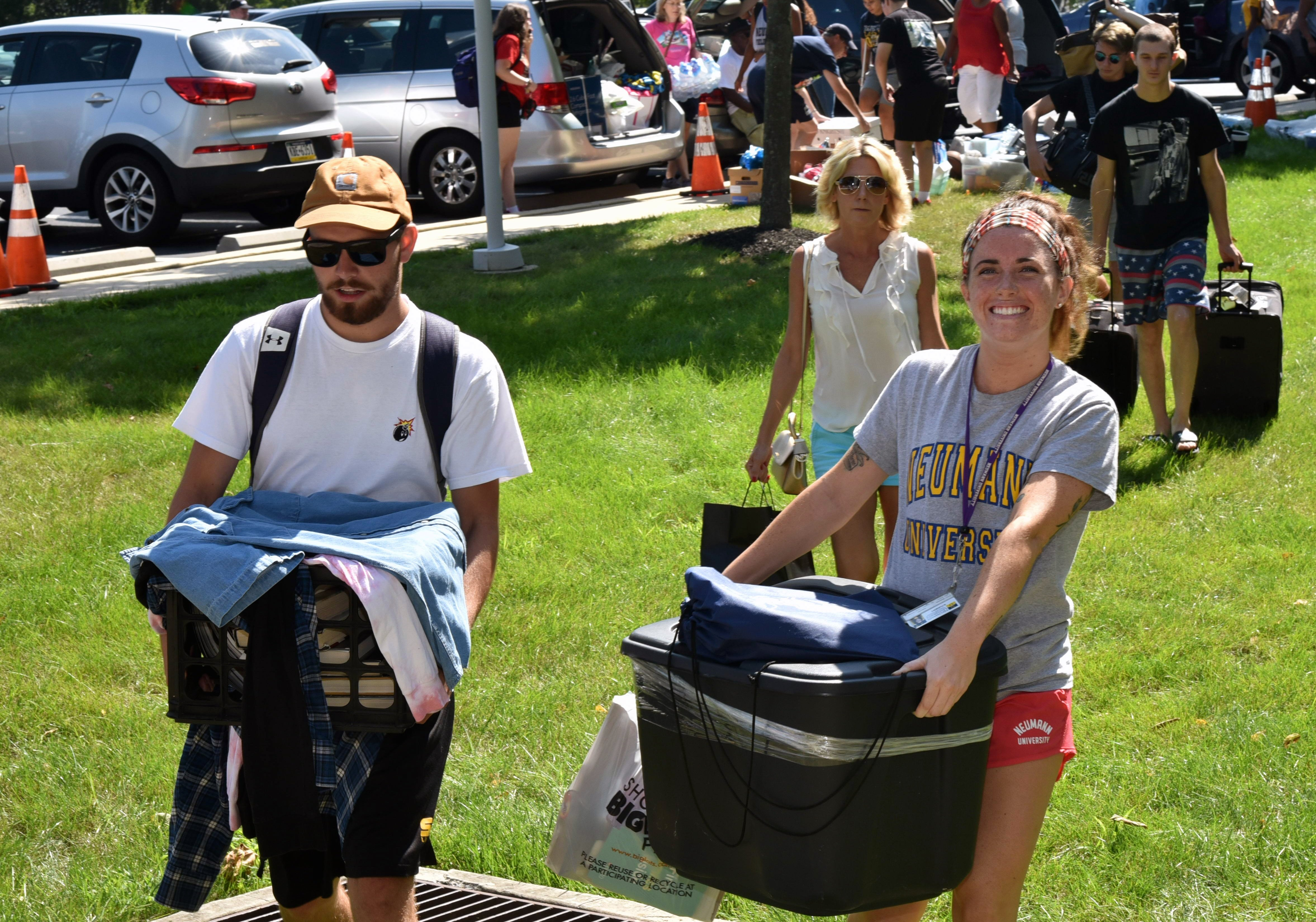 All Hands on Deck for Move-In Day