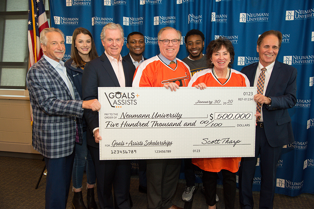 Snider Hockey Gives NU $500,000 for Scholarships