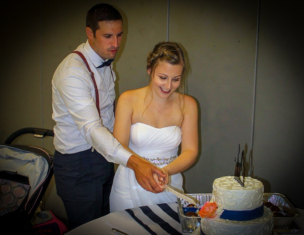 Neumann to the Rescue, Saves Wedding Reception