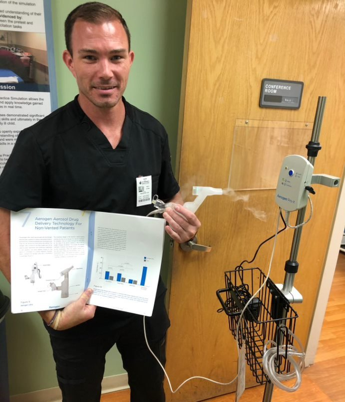 Brett Hayden '02 Struggles to Fill Medical Orders during the Pandemic
