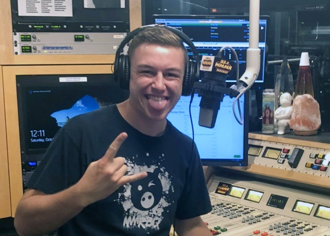 Alum Sean Spence Takes Over the WMMR Airwaves