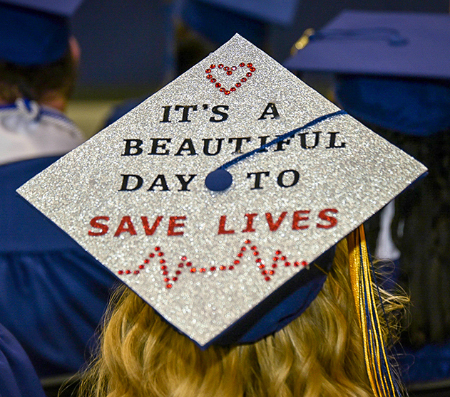 Mortarboard Messages: Inspiration and Humor